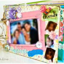 Handmade Photo Album Cover 1