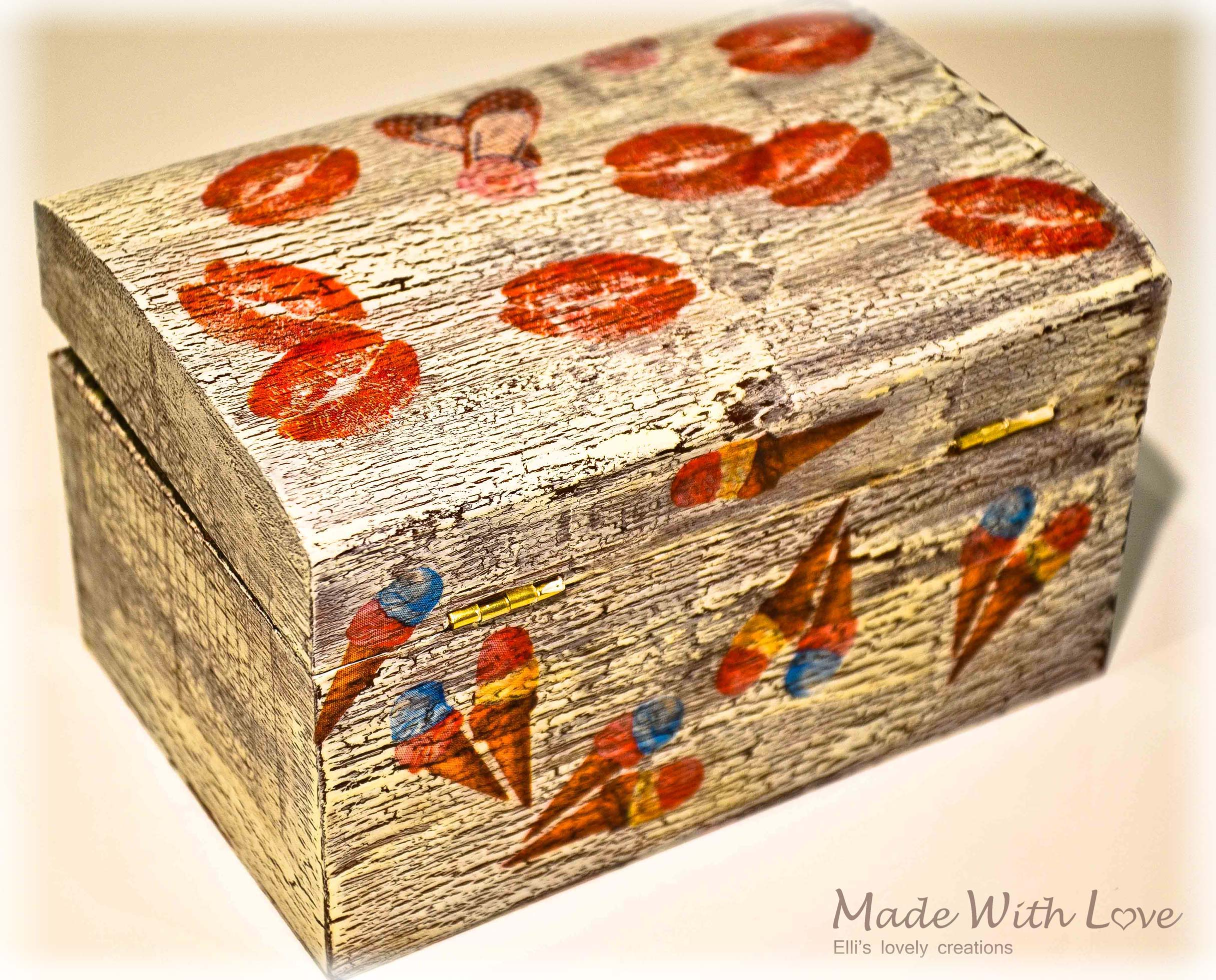 Wooden Jewelry Box pic4