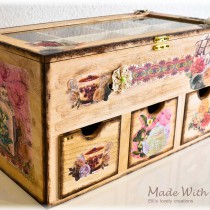 wooden tea box picture 1