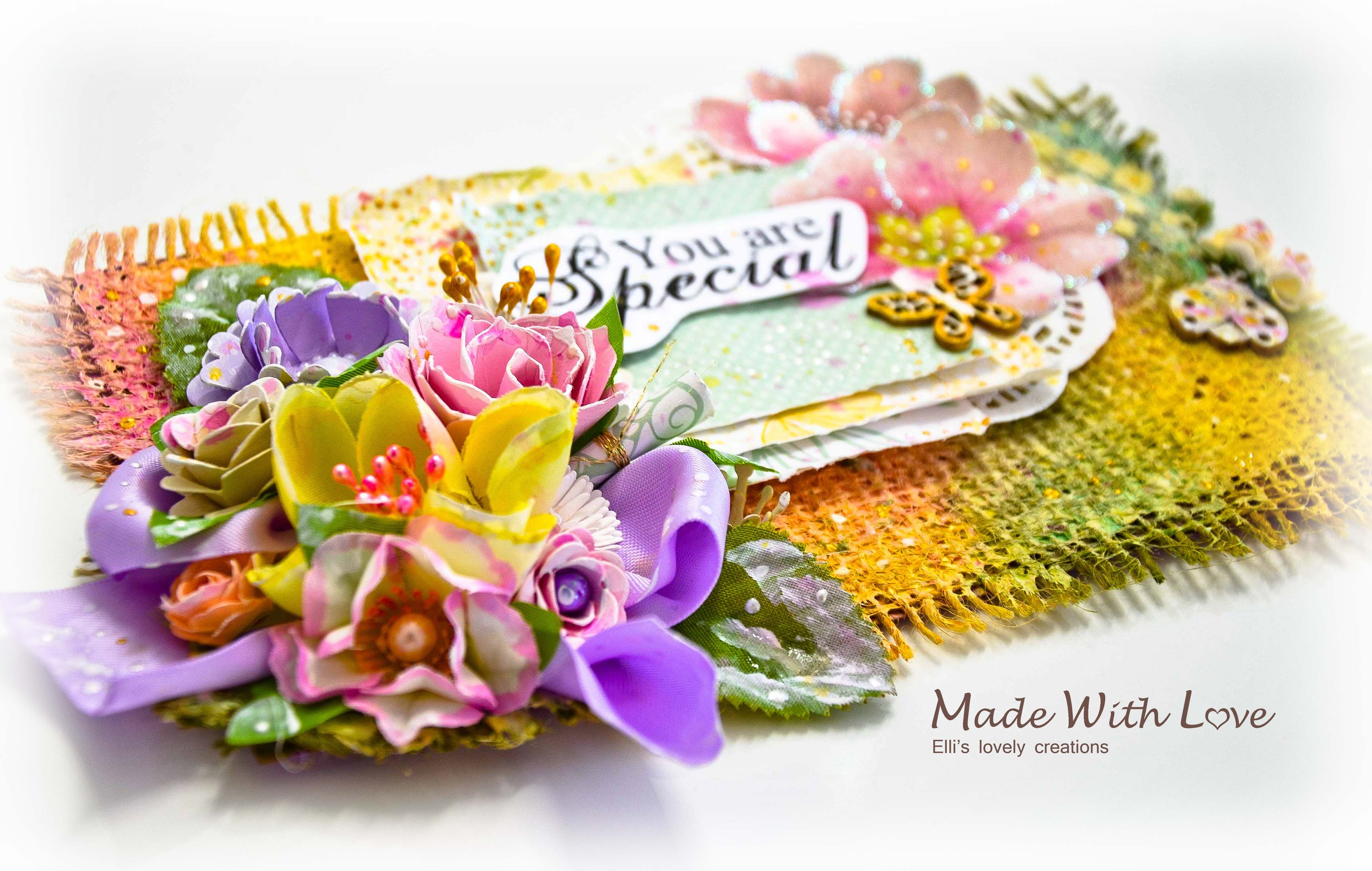 Mixed Media Card – You Are Special