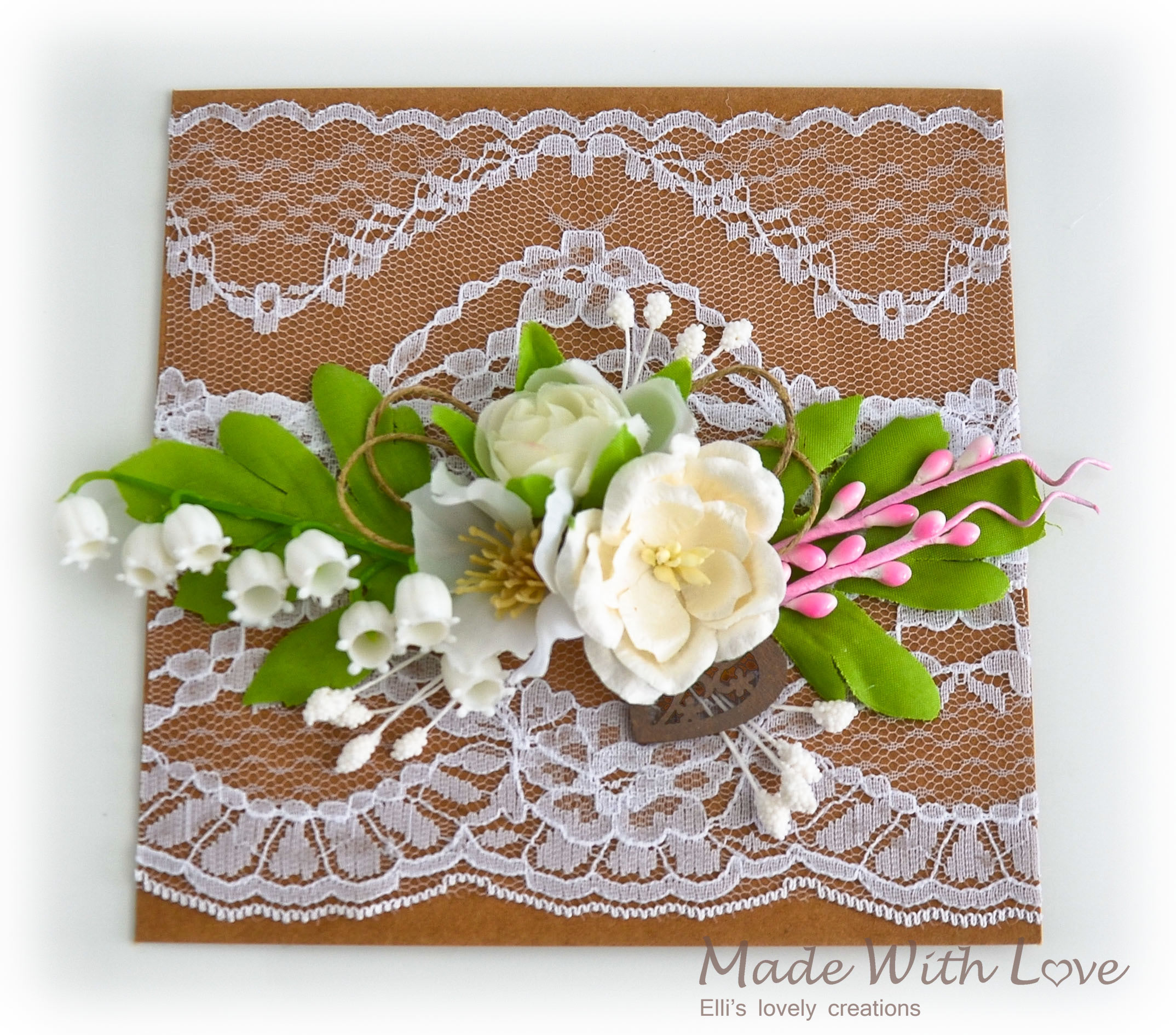 Rustic Wedding Card 2
