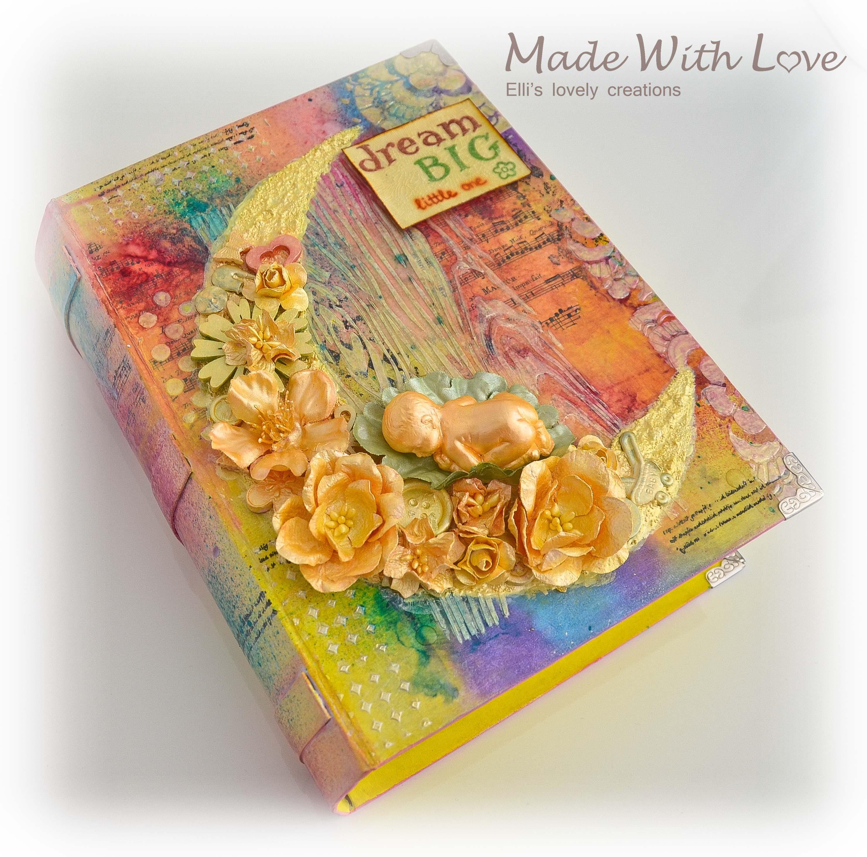 Mixed Media Baby Precious Book Box 2