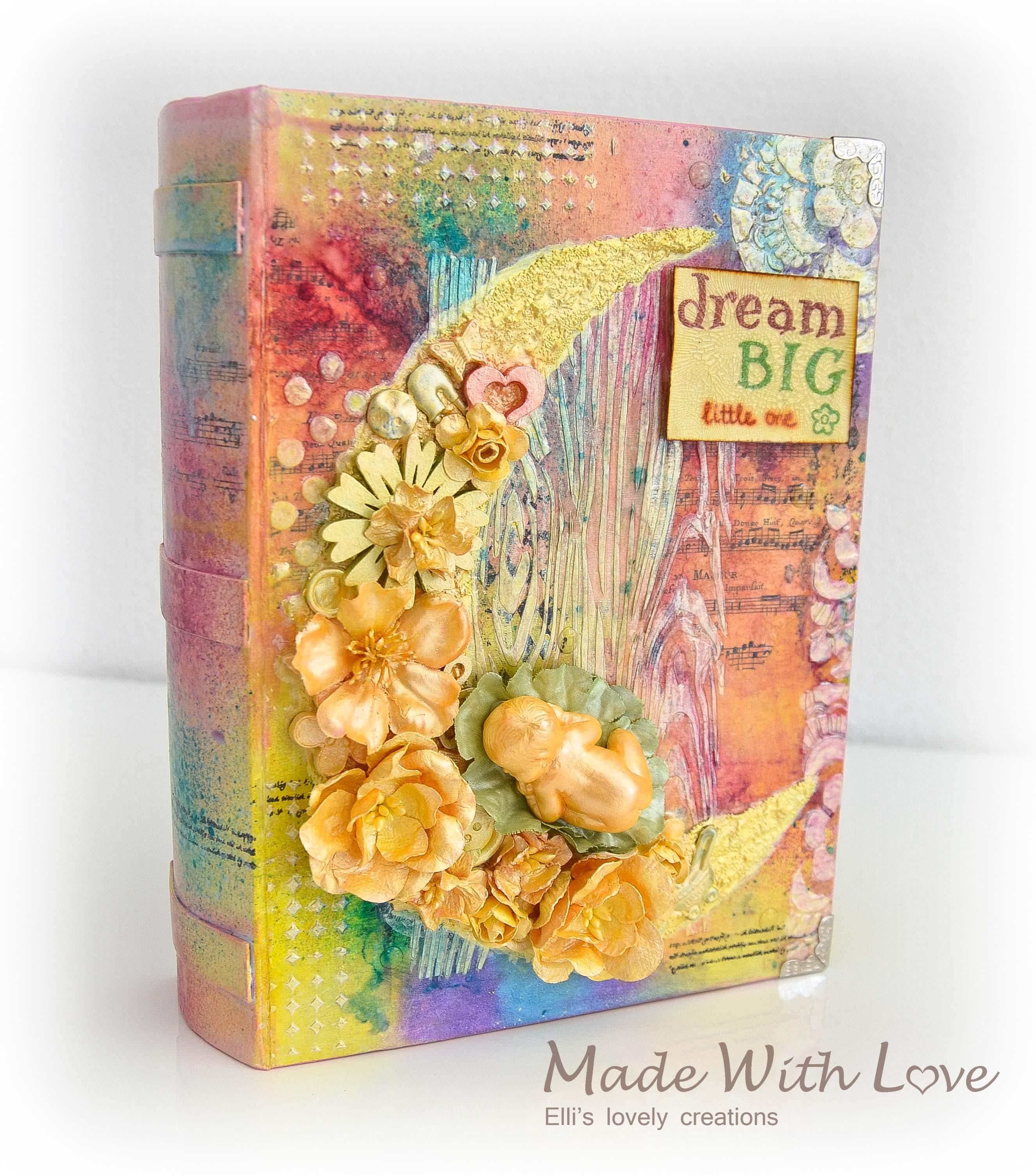 Mixed Media Baby Precious Book Box 9