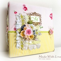Scrapbook Fabric Makro Baby Album Maria 2