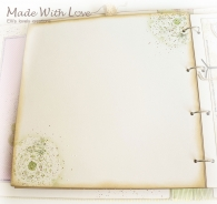 Scrapbook Fabric Makro Baby Album Maria 25
