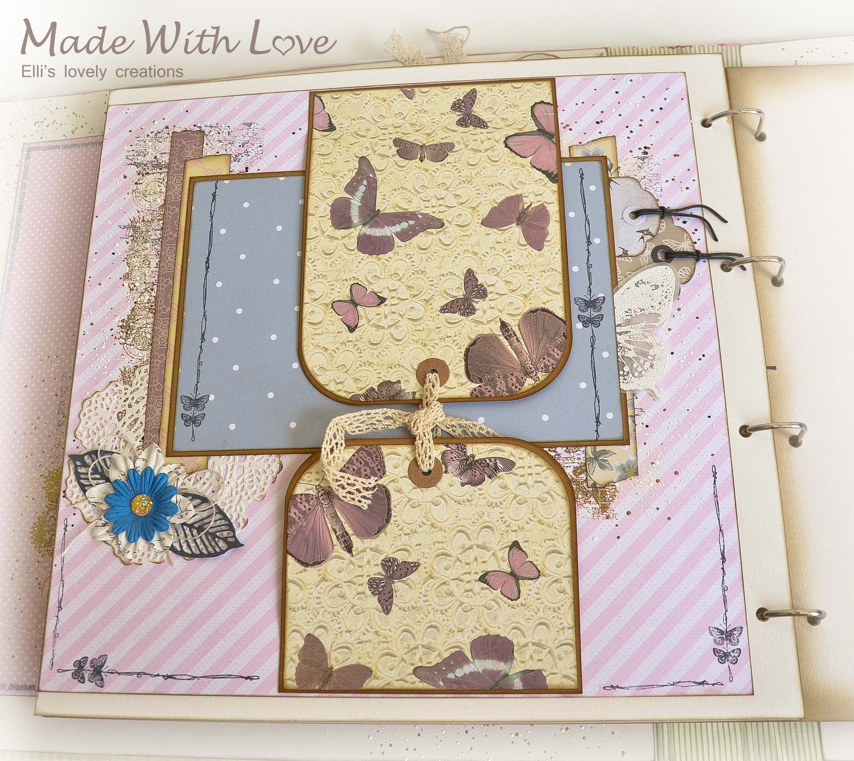 Scrapbook Fabric Makro Baby Album Maria 39