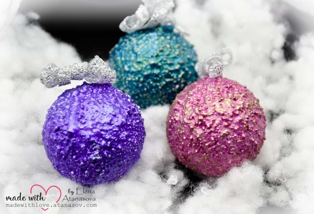 Christmas Tree Star Snowflake Pinecones Ornaments 3