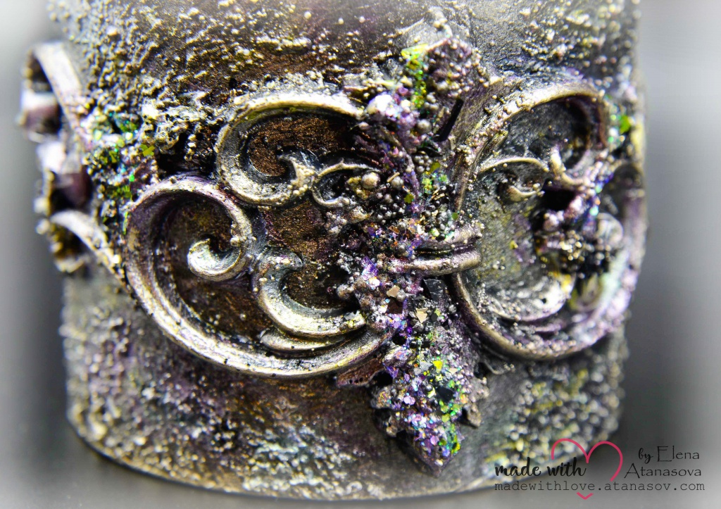 Mixed Media Jewelry Box Happy 35 15
