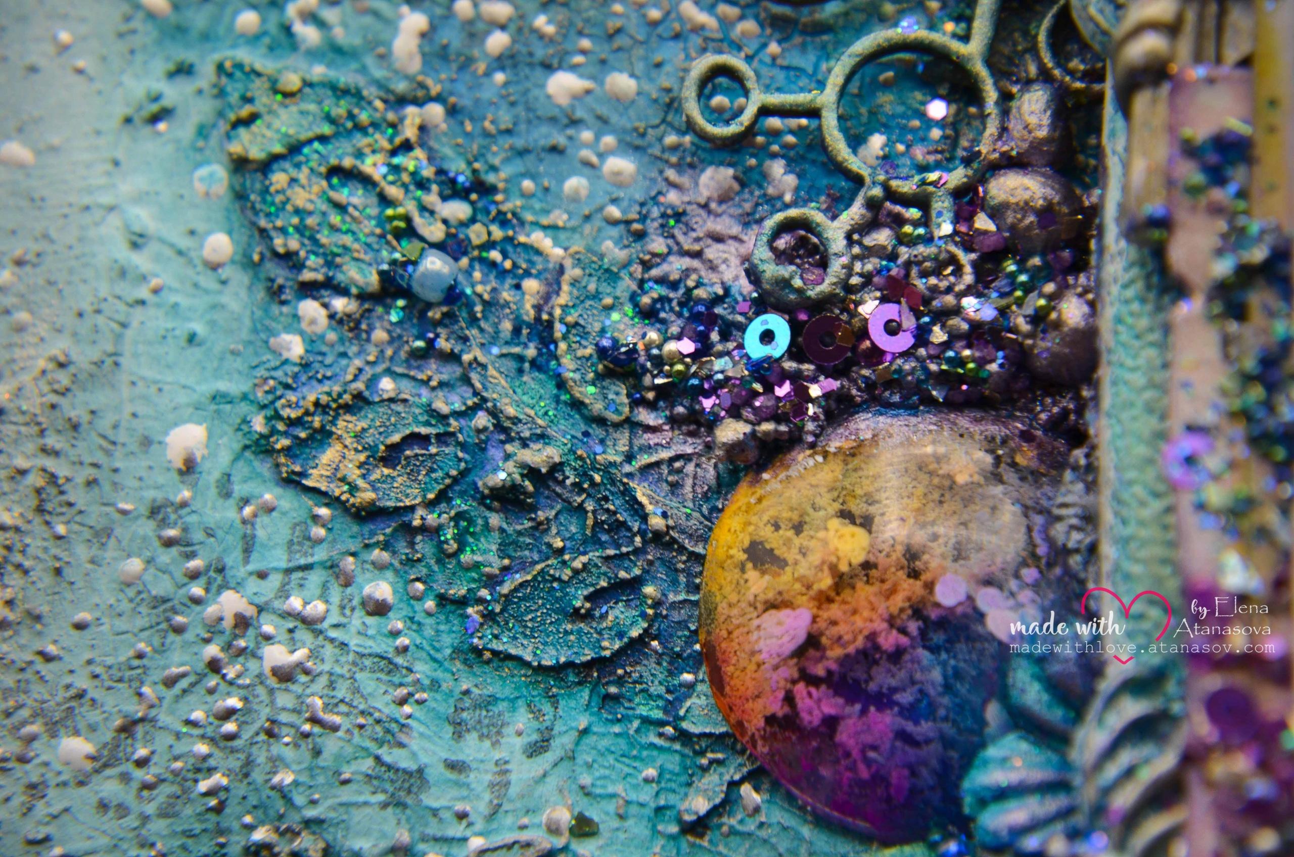 Mixed Media Canvas Memories 10