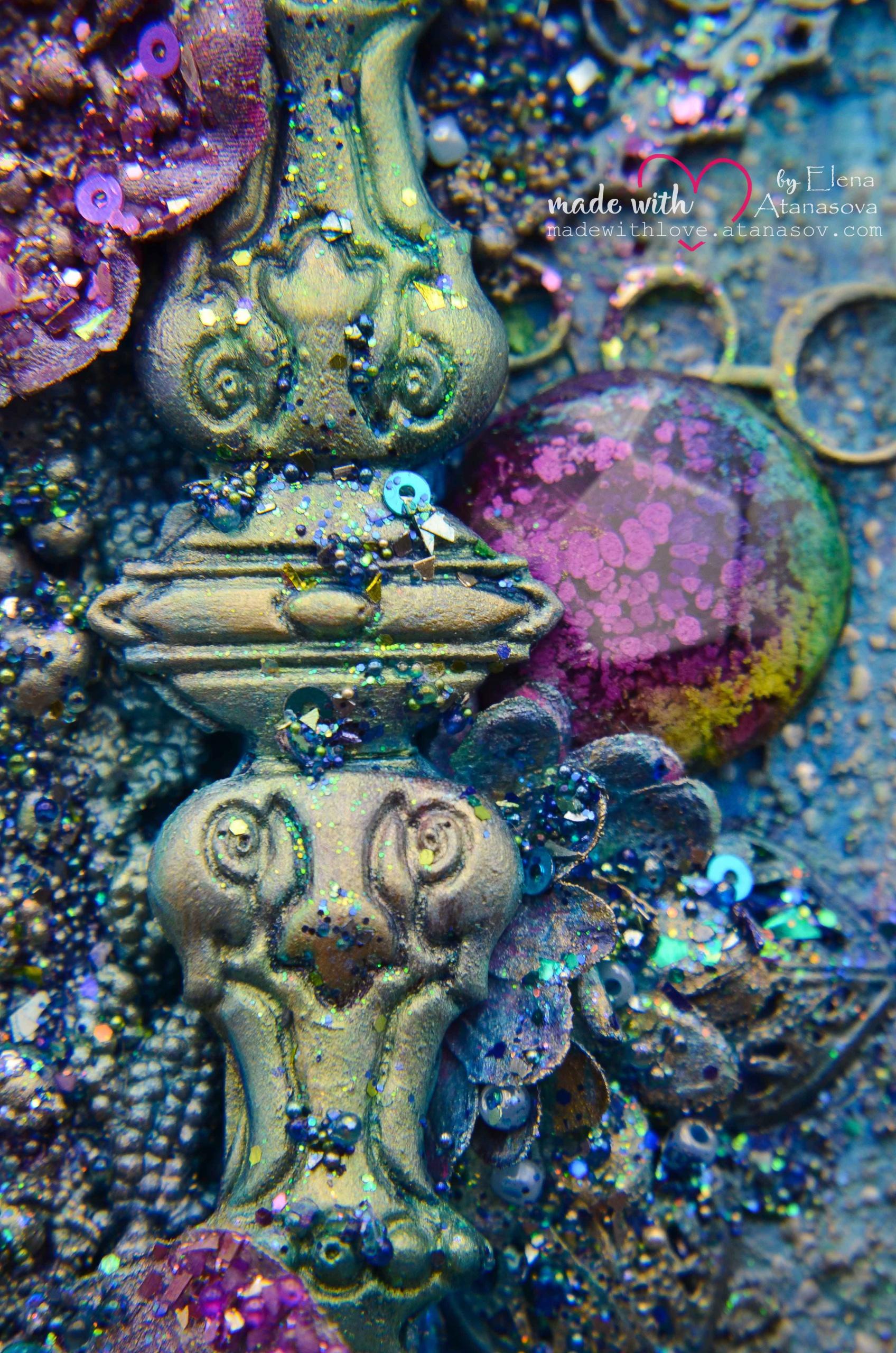 Mixed Media Canvas Memories 11