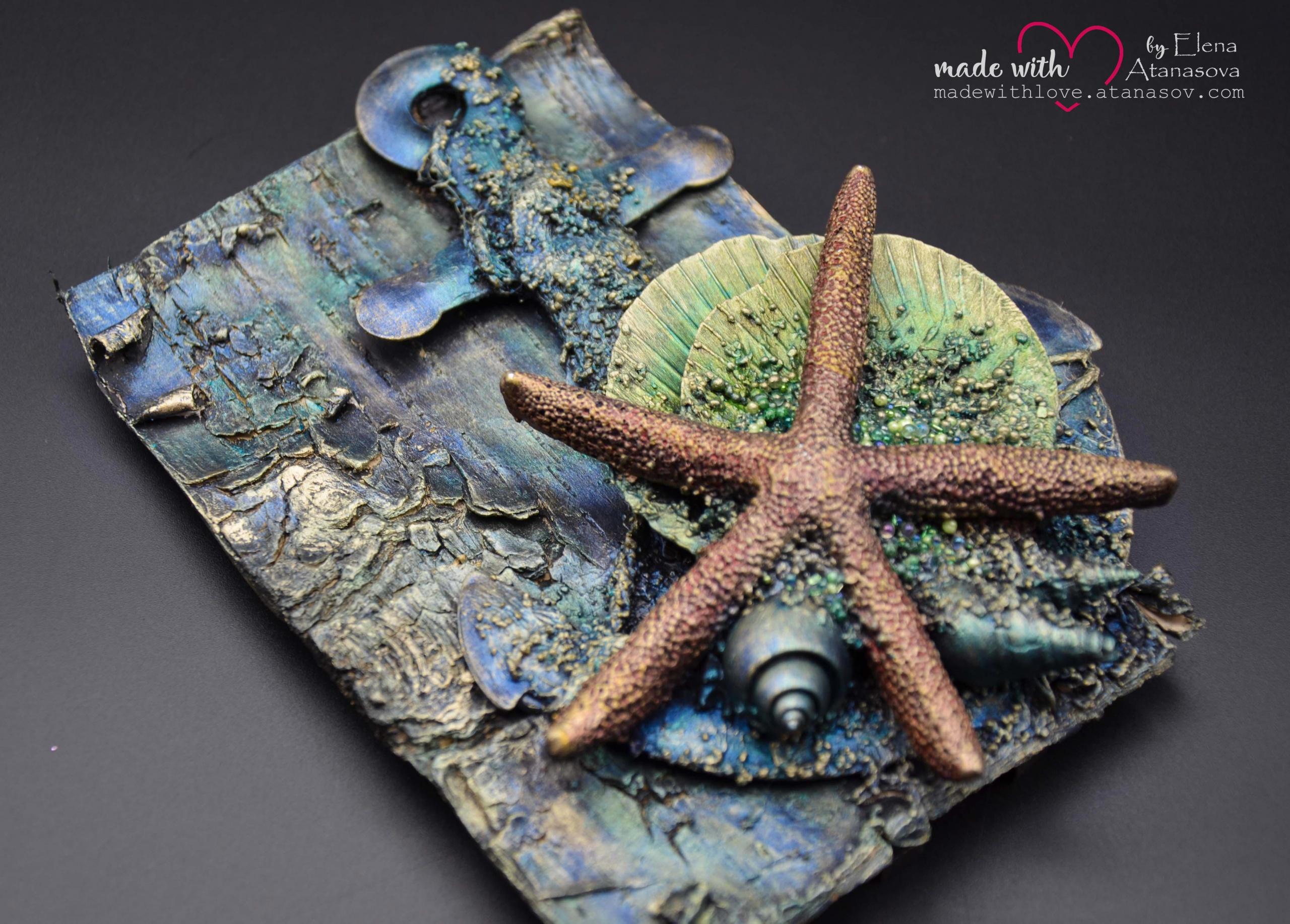 Mixed Media Sea Anchor Card 5